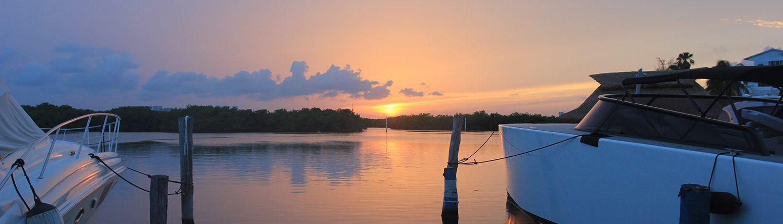 Sunset in Cancun