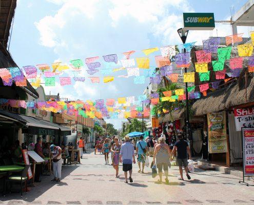 Playa Del Carmen Street View