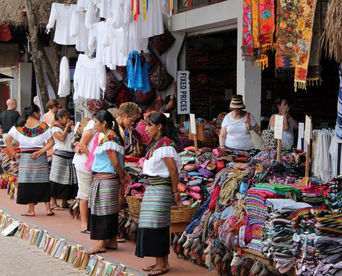 Shop Selling Indigenous Products on Avenida Quinta